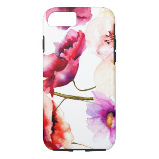 Poppies in Water Colors iPhone 7 Case