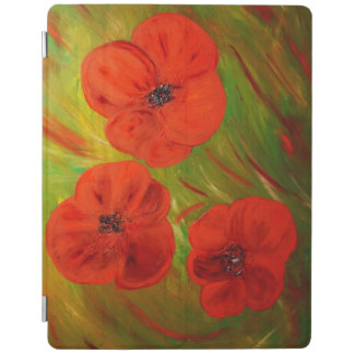 poppies iPad cover