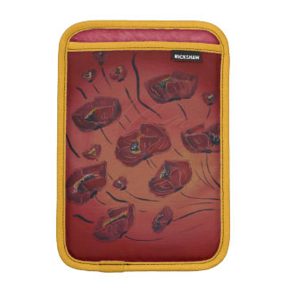 poppies iPad mini sleeve
