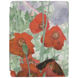 poppies iPad screen cover iPad Cover