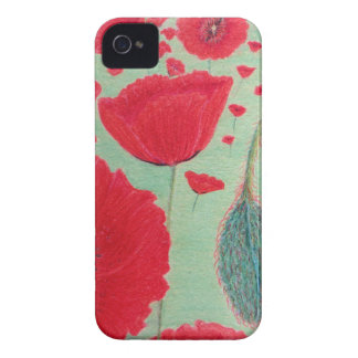 Poppies iPhone 4 Cover