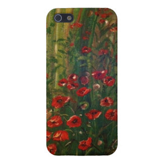 Poppies iPhone 5 Case