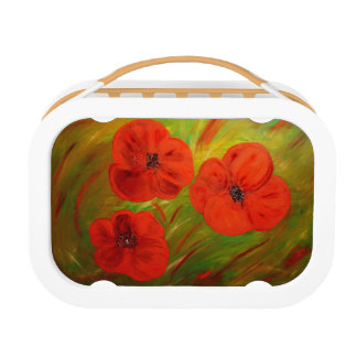 poppies lunch box