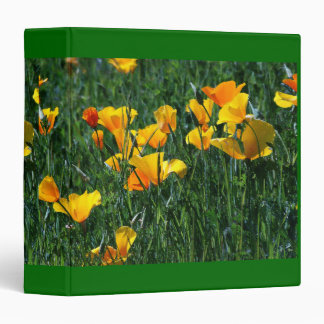 Poppies Meadow Avery Binder