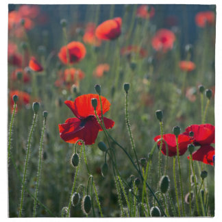 poppies napkin