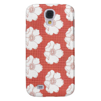Poppies on Red Phone Case