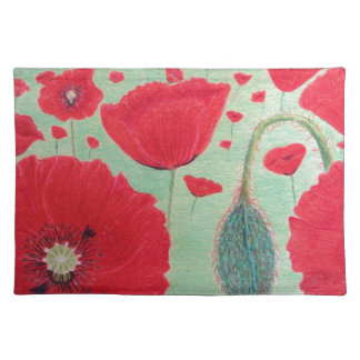 Poppies Placemat
