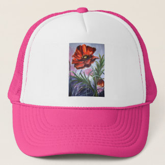 Poppies Poppy Office Personalize Destiny Destiny'S Trucker Hat