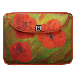 poppies sleeve for MacBooks