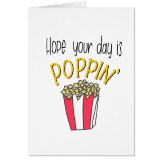 Poppin' Card
