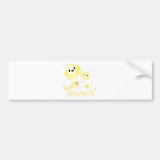 Poppin Popcorn Bumper Sticker