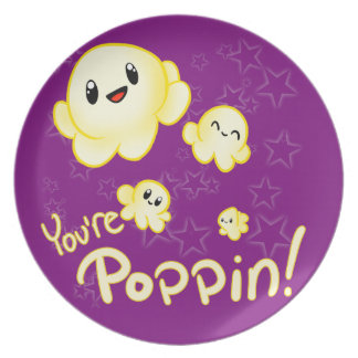 Poppin Popcorn Plate