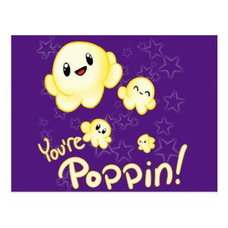 Poppin Popcorn Postcard