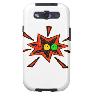 Popping Horizontal Moody Stoplight Galaxy S3 Covers