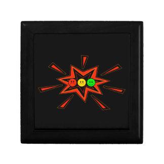 Popping Horizontal Moody Stoplight Gift Box