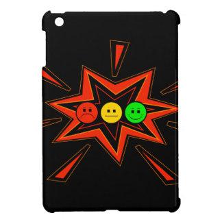 Popping Horizontal Moody Stoplight iPad Mini Cases
