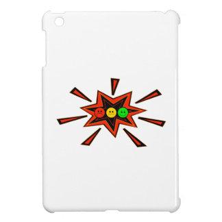 Popping Horizontal Moody Stoplight iPad Mini Covers