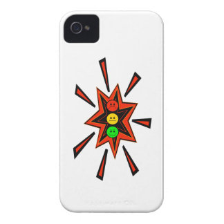 Popping Moody Stoplight iPhone 4 Case-Mate Cases