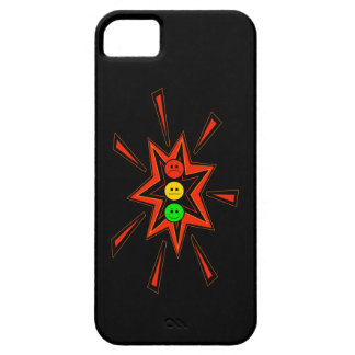 Popping Moody Stoplight iPhone 5 Covers