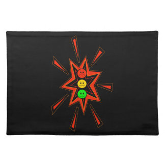 Popping Moody Stoplight Placemat