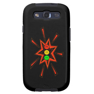 Popping Moody Stoplight Samsung Galaxy S3 Cover