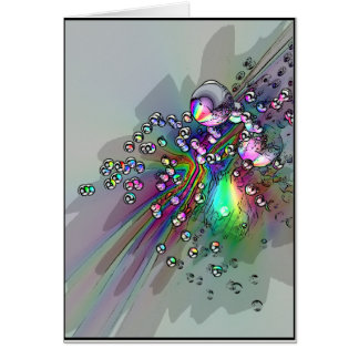 Popping the Cork - New Year Bubbles Card