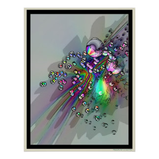 Popping the Cork - New Year Bubbles Poster