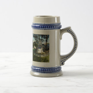 POPPONESSET LIGHT BEER STEIN