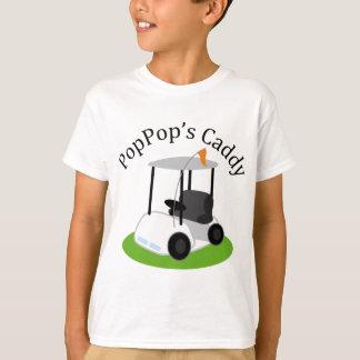 Poppops Caddy (Golf) T-Shirt