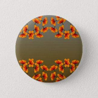 poppy4 pattern 2 inch round button