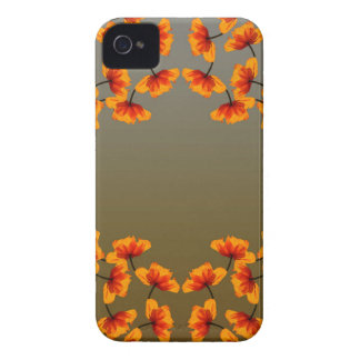 poppy4 pattern iPhone 4 cover