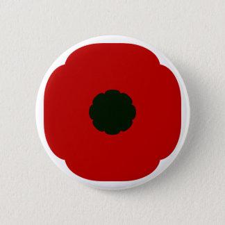 Poppy 2 Inch Round Button
