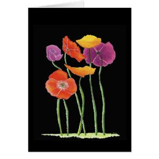 Poppy 50th Anniversary Card