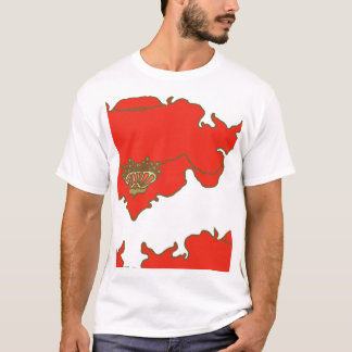 poppy and sky block copy T-Shirt