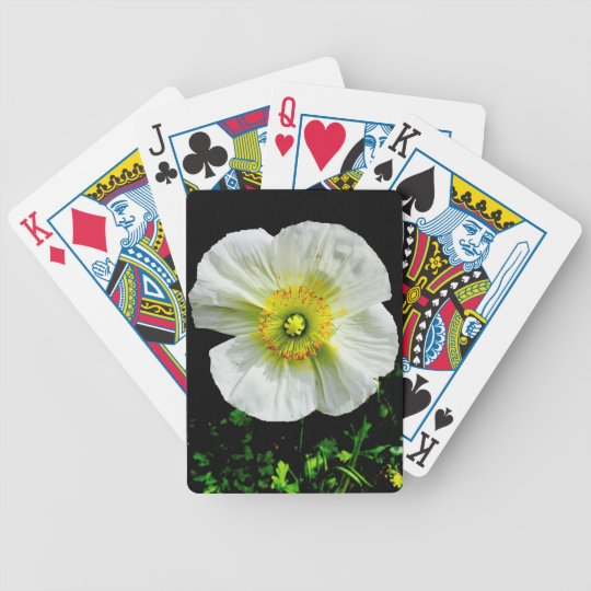 Poppy Bicycle Playing Cards