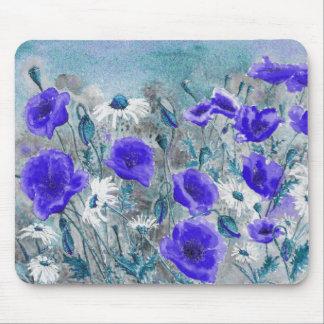 'Poppy Blue' Mousepad