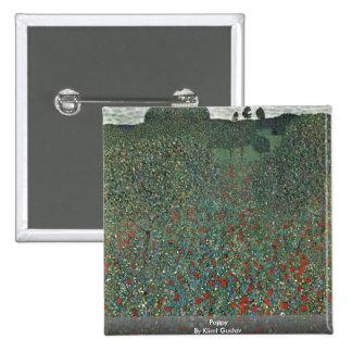 Poppy By Klimt Gustav Pin