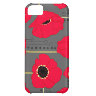 Poppy iPhone 5C Cover