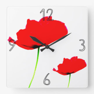 POPPY Collection 01 Wall Clock