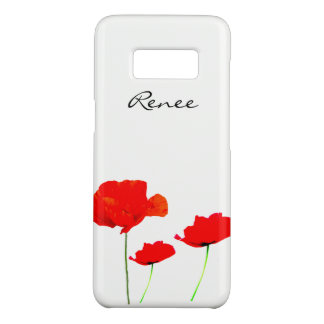 POPPY Collection 02 Personalized Samsung Case