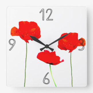 POPPY Collection 05 Wall Clock