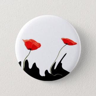 poppy collectioP 2 Inch Round Button
