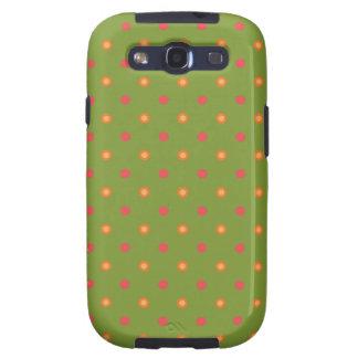 Poppy Colours Polka Dots Samsung Galaxy S3 Case