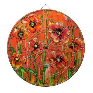 poppy day dartboard