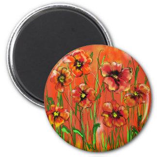 poppy day magnet