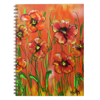 poppy day notebook