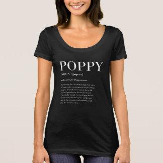 Poppy Defined Women's Scoop Neck T T-Shirt