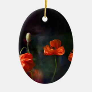 POPPY_DSC8852-large Ceramic Ornament