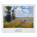 Poppy Field, Argenteuil, 1875 Claude Monet