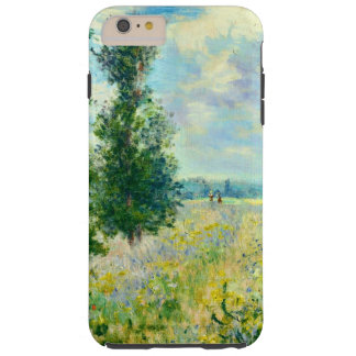 Poppy Field by Claude Monet Tough iPhone 6 Plus Case